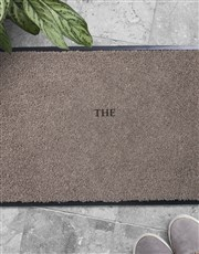 Personalised Initial Doormat