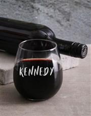 Personalised My Greatest Adventure Wine Glass Set