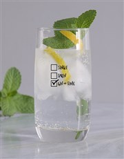 Personalised Gintastic Relationship Glass