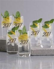 Personalised Birthday Celebration Glass Set