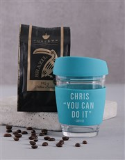 Personalised You Can Do It Travel Mug
