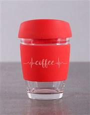 Personalised Heartbeat Travel Mug