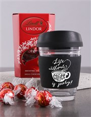 Personalised Life Without Coffee Mug