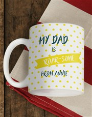 Personalised Mane Man Mug