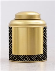 Gold Tea Tin