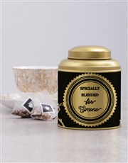 Personalised Specially Blended Tea Tin