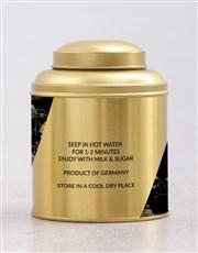 Personalised Floral Tea Tin