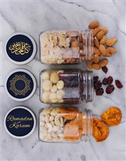Personalised Eid Snack Jar Trio