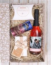 Personalised Birthday Photo Gourmet Giftbox