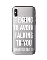 Personalised Texting iPhone Cover
