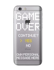 Personalised Game Over iPhone Cover