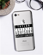 Personalised Explicit Content iPhone Cover