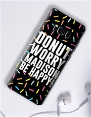 Personalised Donut Samsung Cover