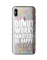 Personalised Donut iPhone Cover