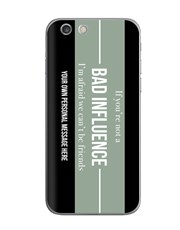 Personalised Bad Influence iPhone Cover