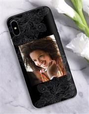 Personalised Mehndi Photo iPhone Cover