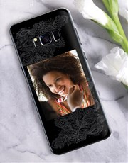 Personalised Mehndi Photo Samsung Cover