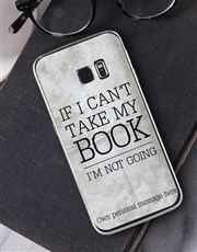Personalised Bookish Samsung Cover