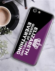 Personalised Queen iPhone Cover