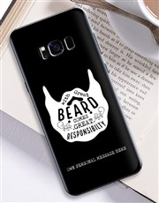 Personalised Beard Samsung Cover