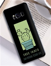 Personalised Cactus Samsung Cover