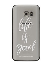 Personalised Good Life Samsung Cover