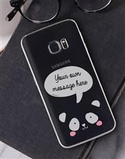 Personalised Panda Samsung Cover