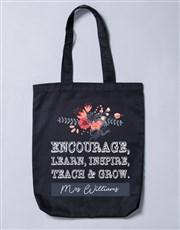 Personalised Encourage Tote Bag