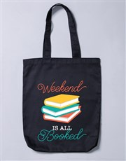 Personalised Booked Tote Bag