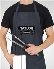 Personalised Head Chef Apron