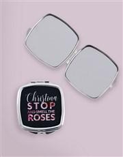 Personalised Roses Cosmetic Bag