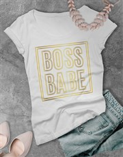 Boss Babe Shirt for Ladies