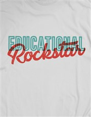 Educational Rockstar Shirt for Men