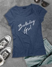 Birthday Girl Shirt for Ladies