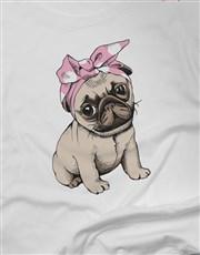 Ladies Cute Dog Tshirt