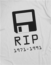 RIP Floppy Disk Tshirt