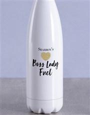 Personalised Boss Lady Water Bottle