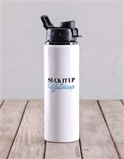 Personalised Buttercup Water Bottle