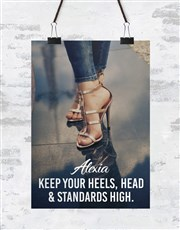 Personalised Standards High Poster