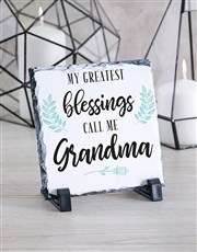 Personalised Grandma Glass Tile
