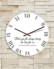 Personalised Granny MDF Clock