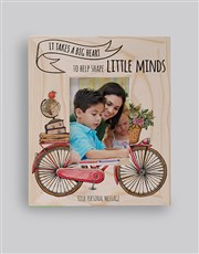 Personalised Little Minds Photo Frame