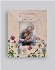Personalised Grandma Forever Photo Frame