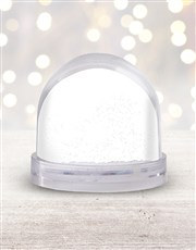 Personalised Magical Christmas Photo Snow Globe