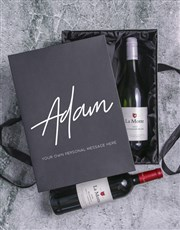 Personalised Wine Duo Giftbox