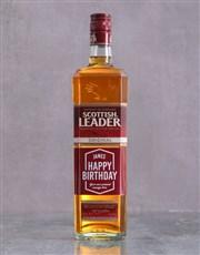 Personalised Birthday Scottish Leader