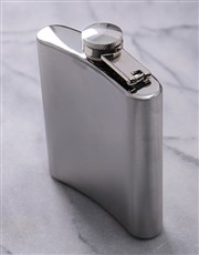Personalised Bicycle Hipflask