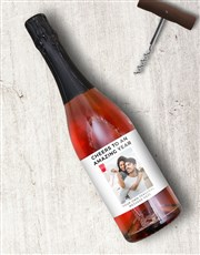 Personalised Amazing Year Photo Wine