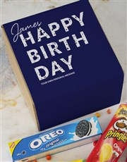 Personalised Gourmet Birthday Box