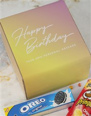 Personalised Birthday Gourmet Box